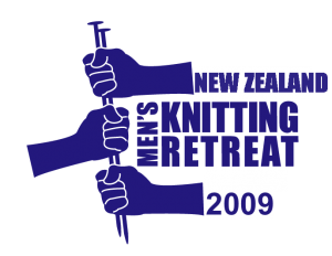 2009 New Zealand Men's Knitting Retreat Logo