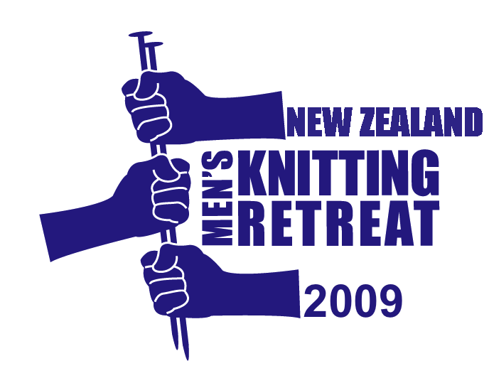 2009 New Zealand Men's Knitting Retreat Logo