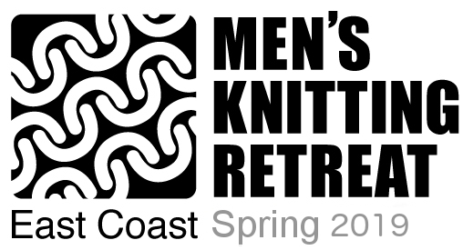 2019 Men's Spring Knitting Retreat Logo