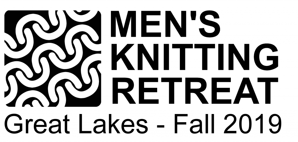 GLMKR 2019 Great Lakes Mens Knitting Retreat 2019 Logo