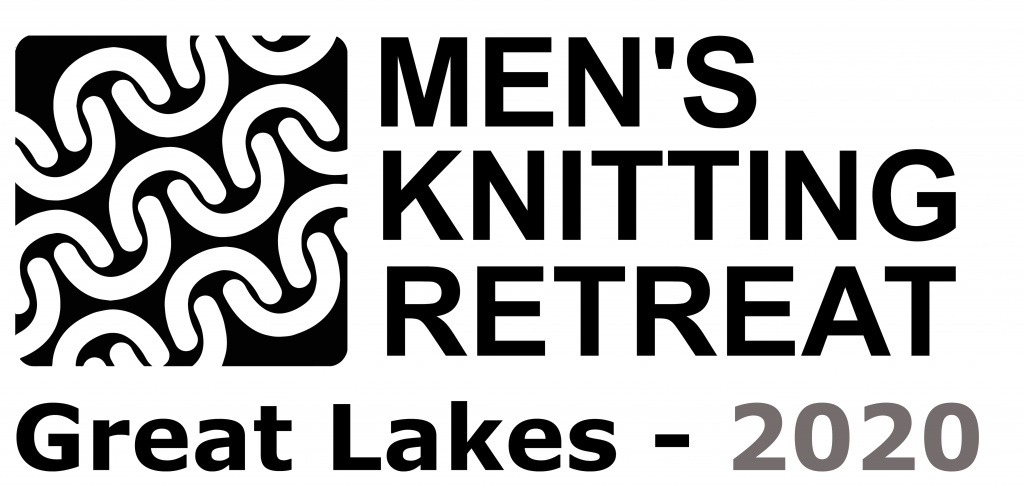 2020 Great Lakes Mens Knitting Retreat GLMKR Logo